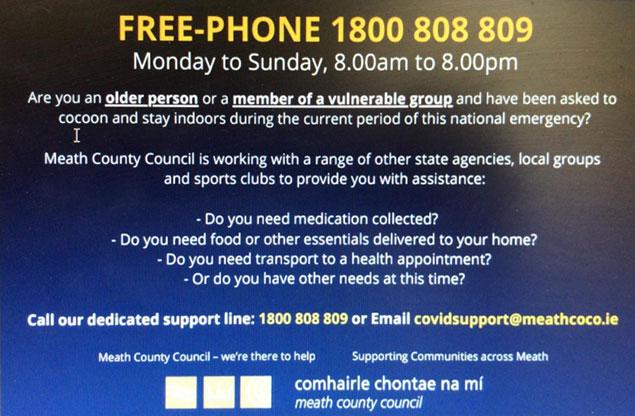 Meath County Council OVID-19 Advice