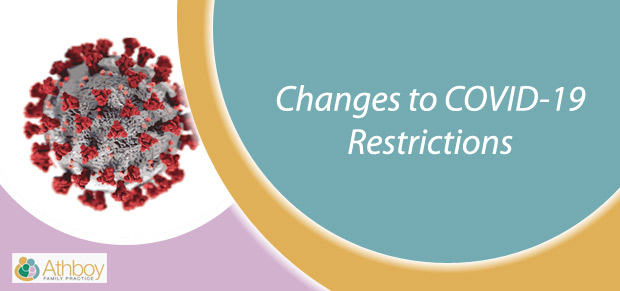 restriction changes covid19